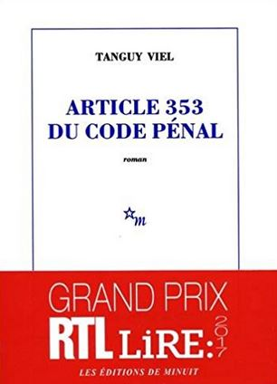 Couverture Article 353 du code pénal
